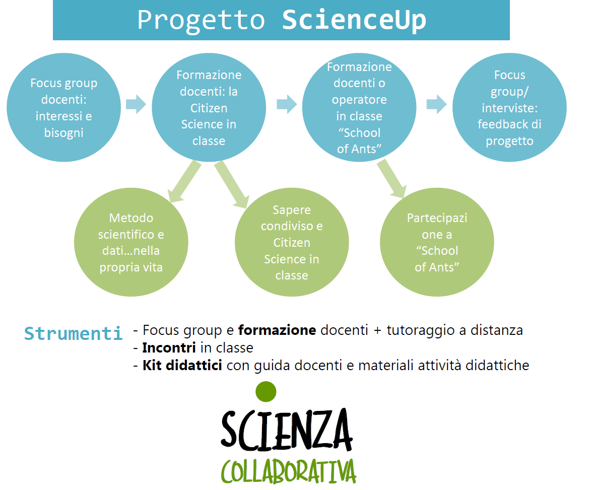 scienzacollaborativa.it bando up4school